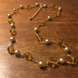 Joan Rivers beaded necklace